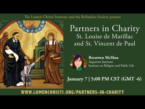 Partners in Charity: St. Louise de Marillac and St. Vincent de Paul