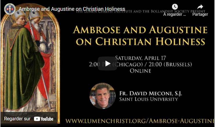 Ambrose and Augustine on Christian Holiness