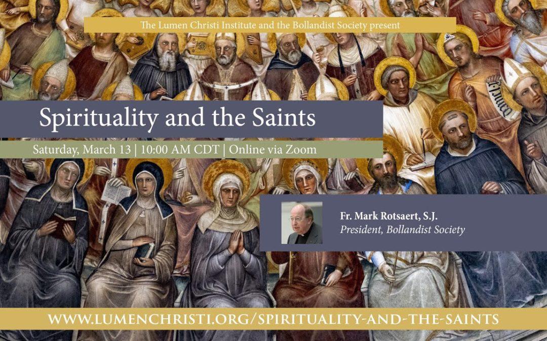 Spirituality and the Saints